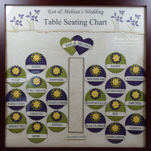 2014 april wedding table seating chart for Table 52 cards 2014