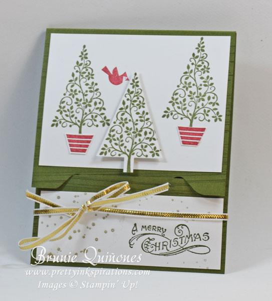 2014 December Festival Of Trees Gift Card Holder