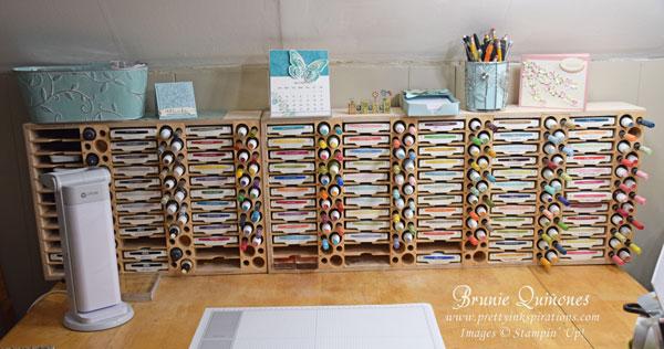 Stamp Storage Ink Pad Marker Refill