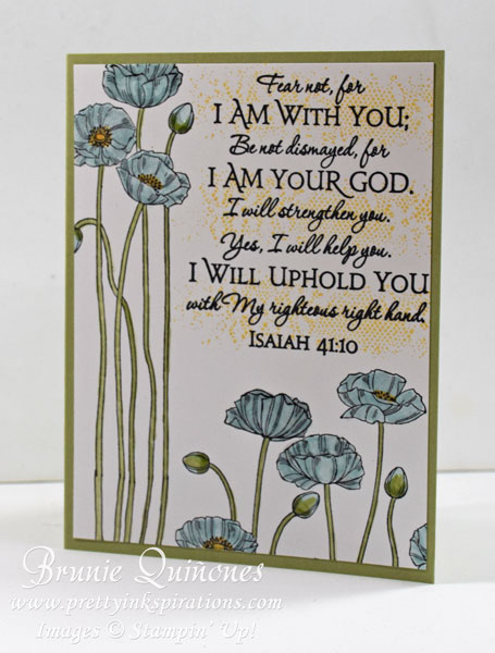 Pleasant Poppies, Touches of Texture, ODB-Scripture-Collection-1