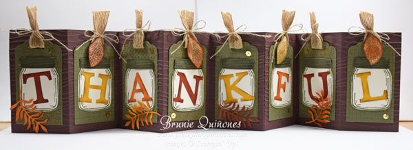Thankful Banner Everyday Jars