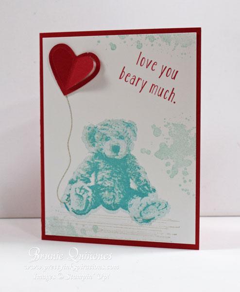 Baby Bear Valentine