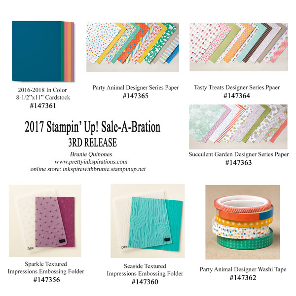2017 Sale-A-Bration 3rd Release
